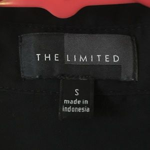 The Limited Tops - Black Blouse